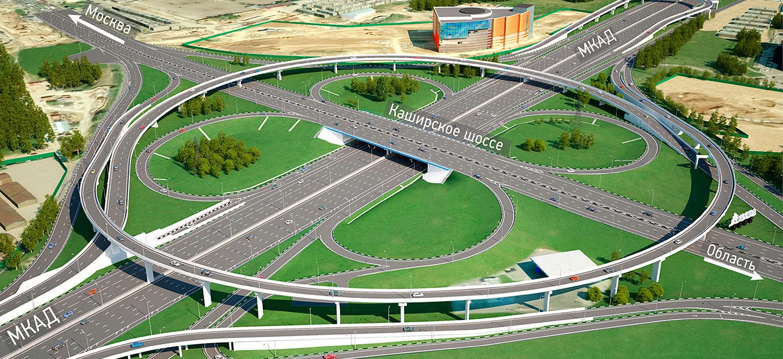 Каширское шоссе мкад реконструкция схема