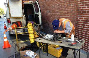 ремонт оптического кабеля