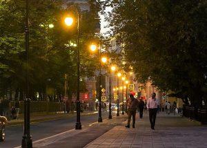 освещение улиц Москвы