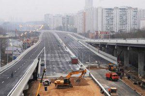 реконструкция освещения калужского шоссе