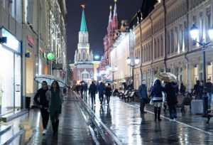 уличное освещение в Москве
